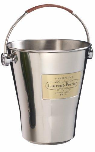 Champagnerkühler mit Ledergriff (1 Magnumflasche) - Champagne Laurent Perrier