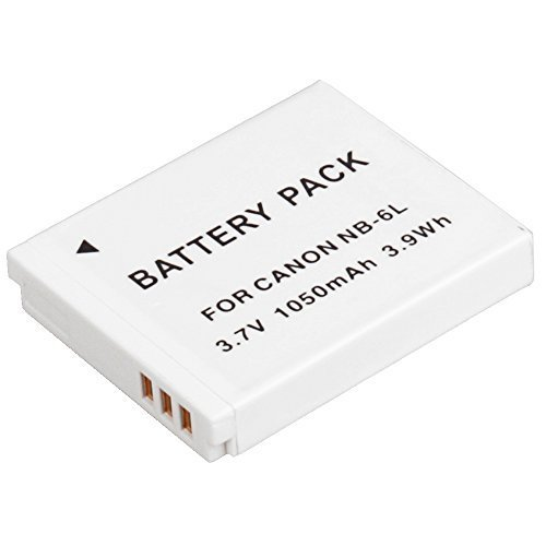 NB-6L / NB-6LH Ultra High Capacity Li-ion Battery for Canon SX710 HS SX530 HS SX520 HS SX280 HS SX260 HS SX170 IS Black SD1200 IS SD980 SD770 SD1300 IXUS 85 IS IXUS 95 IS IXUS 200 IS Cameras  available at amazon for Rs.1599