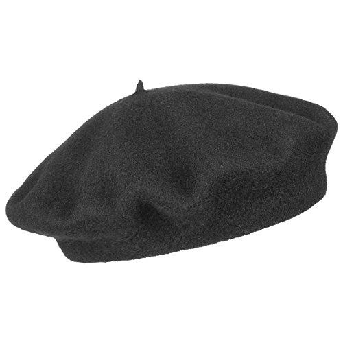 Cappellishop Berretto Basco berretto basco berretto basco invernale 61 cm -  nero 77f57ac778cd