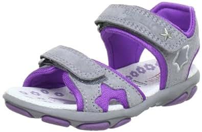 Superfit  Nelly1 Sandals Girls  Gray Grau (griffin kombi 41) Size: 35