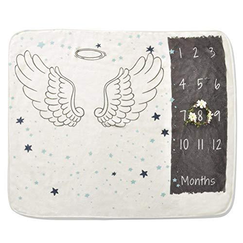 Househome Fotografie-Decke, Neugeborenes Baby Babyhood Foto Fotografische Fotografie Decke Für 0-6 Monate Baby, Polyesterfaser, Weiß