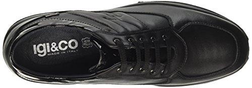 IGI&CO Dfxgt 8756, Sneaker a Collo Basso Donna Nero