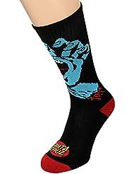 Chaussettes Santa Cruz – Screaming Hand noir taille: OSFA (Taille pour tout)