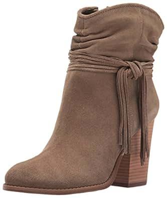 Jessica Simpson Frauen Sesley Pumps rund Leder Fashion Stiefel