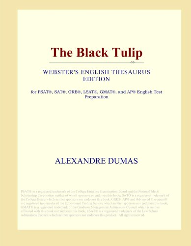 The Black Tulip (Webster's English Thesaurus Edition)