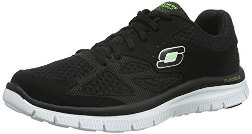 Skechers Flex Advantage Master Plan, Chaussons Sneaker Homme
