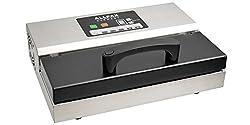 Superschnäppchen. Allpax Vakuumierer/Vakuumiergerät P 355 inkl. Muster-Vakuumbeutel, 2 Rollen à 6 m, Saugadapter - mit Pulse-System für druckempfindliche Produkte - 97% Vakuumerzeugung