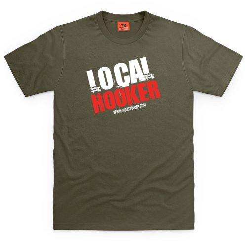 Local Hooker T-Shirt, Herren Olivgrn
