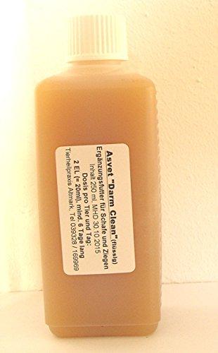 Asvet Darm Clean, Kräuter-Lösung für Schaf + Ziege, keine chemische Wurmkur, kein Gift