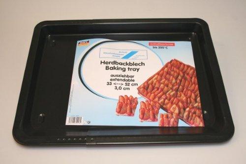 Backblech ausziehbar 33-52 cm