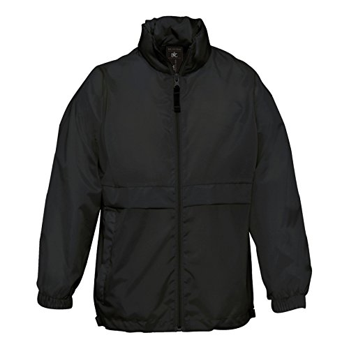 B&C Collection Damen Modern Jacke Gr. 54, schwarz (Peacoat Jacke Double-breasted)