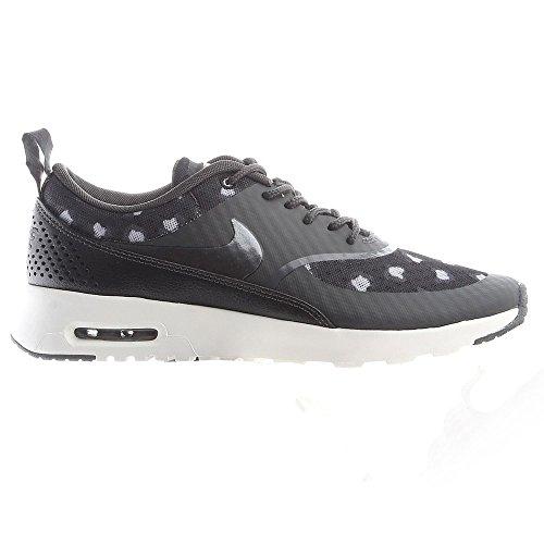 Nike Air Max Thea Print Wmns - 599408008 - Farbe: Weiß-Grau-Schwarz - Größe: 40.0