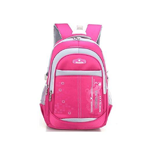 Z&N Backpack Panno Impermeabile Oxford Alta Qualità Scuola Primaria Leggero Zaino Unisex Per Lo Svago Esterno Sport Multiuso Viaggio Campeggio Borsa Viaggio Per Picnic Vento Da Collegio B