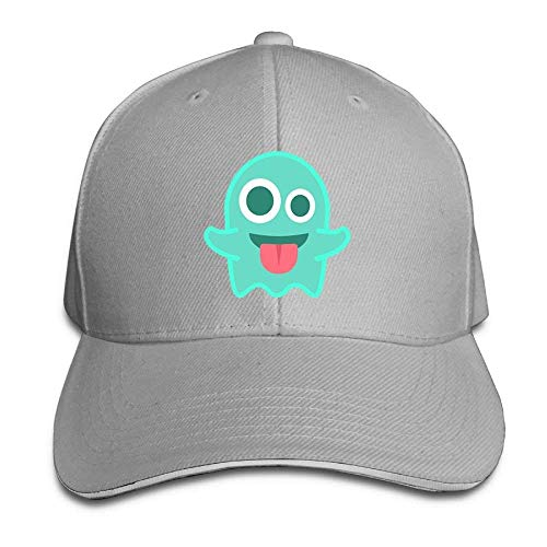 Ghost This is A Cool, Cool Hat. Adjustable Sandwich Cap.Baseball Cap. Satin Wool Cap