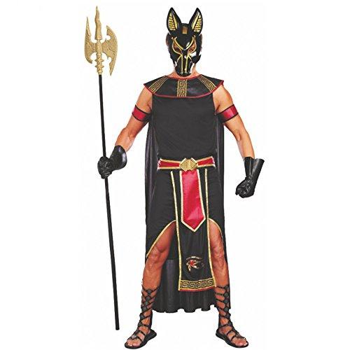 Kostüm Anubis Gr. M - XXL Ägypten Antike Gott der Unterwelt (XL) (Gottes Xxl Xl)