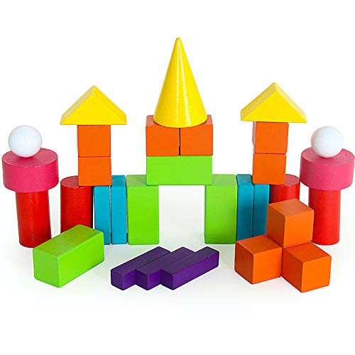 SXPC Geometrie-Puzzle-Unterricht hilft Mathematikbausteine   Kinder, die Grundschüler der frühen Kindheit Lernen, Spielzeugsets zu kennen