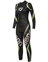 Arena Maillot de Triathlon Combinaison en néoprène carbone, Femme, arena Damen Triathlon Neoprenanzug Carbon