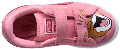 Puma T&j Tom Mädchen Sneaker Rosa - Rose (Salmon Rose/Virtual Pink)