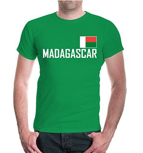 buXsbaum® T-Shirt Madagaskar Kellygreen-