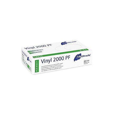 Meditrade 1251L Vinyl 2000 puderfrei, 1er Pack (1 x 100 Stück)