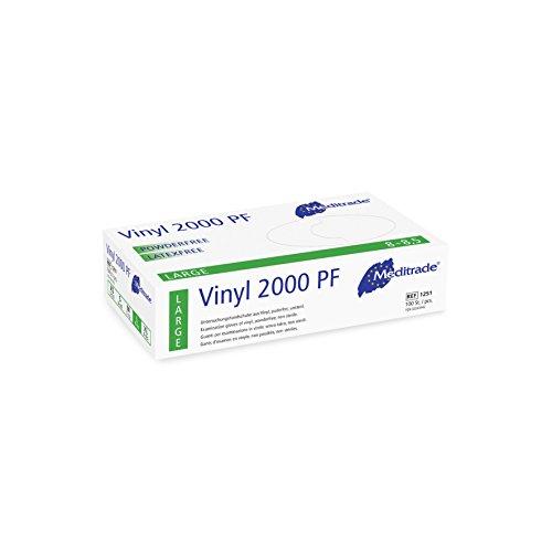 Meditrade 1251M Vinyl 2000 puderfrei, 1er Pack (1 x 100 Stück)