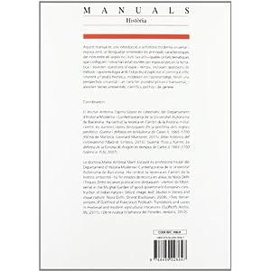 Manual d'història moderna universal (Manuals de la UAB)