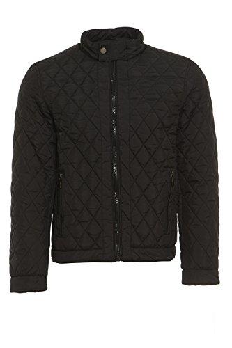 arcticstorm Herren Alan leicht gesteppt, Jacke, schwarz, Größe L Quilted Zip-front-jacke