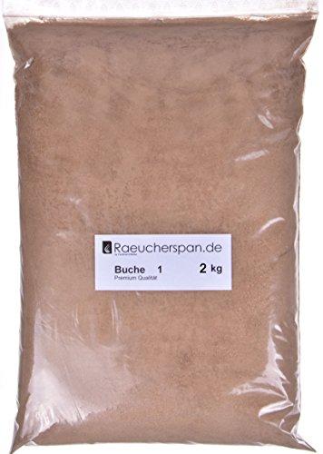 Räucherspäne Räuchermehl Buche Typ 1 zum Kalträuchern 2kg