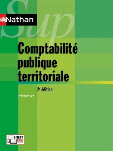 Comptabilité publique territoriale / Monique Calvi.- Paris : Nathan Sup , DL 2016, cop. 2016