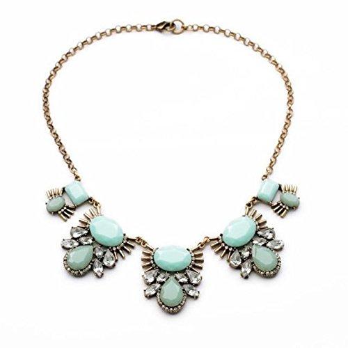 collar-gargantilla-ajustada-color-verde-menta-conjunto-de-joyeria-de-moda-para-mujer