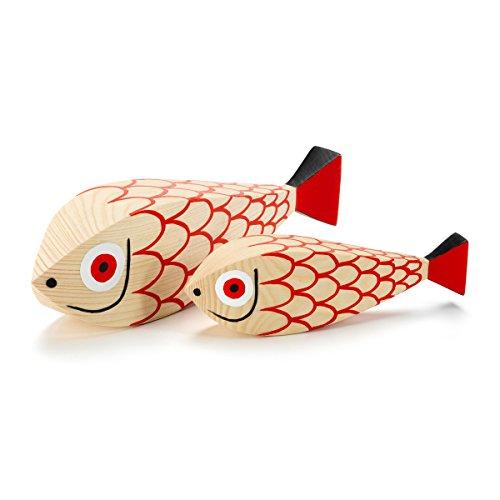 Preisvergleich Produktbild Vitra - Wooden Dolls Mother Fish & Child