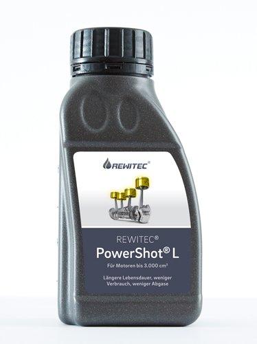 REWITEC PowerShot 04-1229 Beschichtungskonzentrat für Verbrennungsmotoren, Grau, L