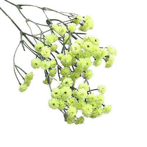 TianWlio Künstliche Seide Gefälschte Blumen Babys Atem Blumen Hochzeit Bouquet Party Dekore