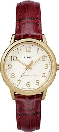 Timex Reloj Analógico para Unisex Adultos de Automático con Correa en Cuero TW2R65400