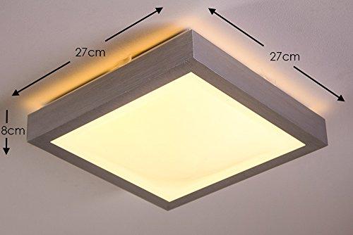 Plafoniera led design moderno illuminazione bagno sicura ed