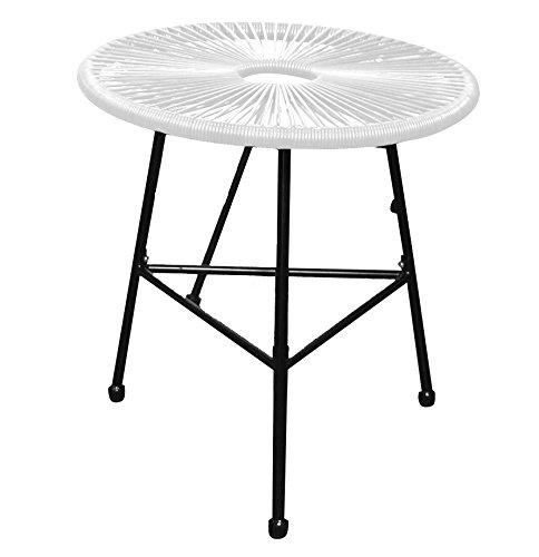 Autrefois Table de Jardin Table Basse Fils (Blanc): Amazon ...