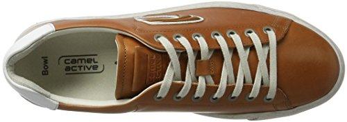 05 Homme Bianco Sneakers Bassi Attiva Cammello Marron 22 zenzero Ciotola qpzw6
