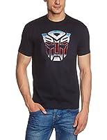 Coole-Fun-T-Shirts Men's T-Shirt Transformers Logo