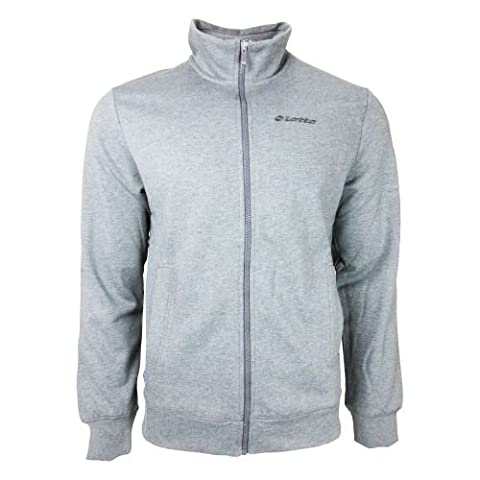 Lotto - First ii anc fz sweat - Sweats vestes zippée - Gris anthracite chiné - Taille M