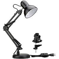 Le–Lámpara de mesa, LED Lámpara de escritorio Set, lámpara de pinza, ajustable lámpara de trabajo, Lámpara de escritorio, lámpara de mesa, ajustable Brazo Giratorio con lampens