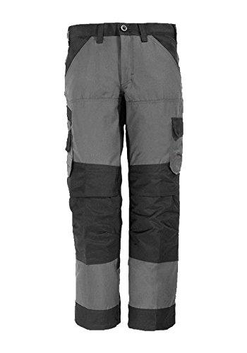 FHB Arbeitshose Markus, größe 86, grau / schwarz / mehrfarbig, 30/35, 11460-1120-86