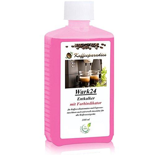 Wark24 Flüssig Entkalker 1000 ml für Kaffeevollautomat, Kaffeemaschine, Wasserkocher - Kalklöser...