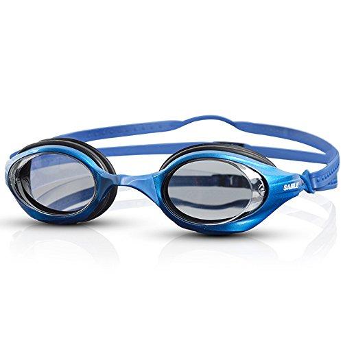 Professionelle Renn-Schwimmbrille wasserdichte Brille Anti-Fog HD abriebfest,C