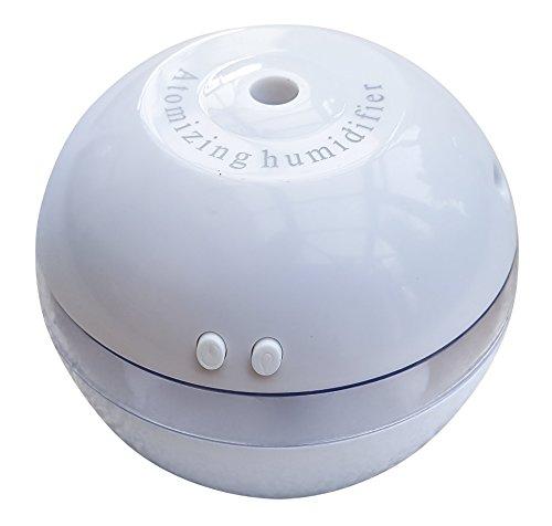 Humidificador aromático y ambientador para aceites esenciales, con luz LED azul de Arc Premier