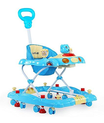 LuvLap 18121/920B  Baby Walker Comfy (Blue)