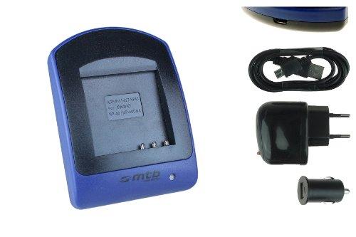 Ladegerät (USB, KFZ, Netz) für Casio NP-40, Exilim EX-FC100 FC150 P505 P600 P700 Z30 Z40...s. Liste Z700 Usb