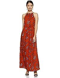 VERO MODA Women's A-Line Maxi Dress