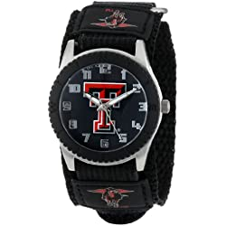 "Game Time Unisex COL-ROB-TXT ""Rookie Black"" Watch - Texas Tech"