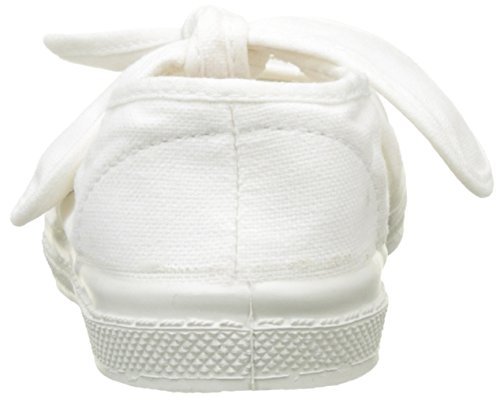 Bensimon Mädchen Tennis Flo Pat Flach Weiß (Weiß)
