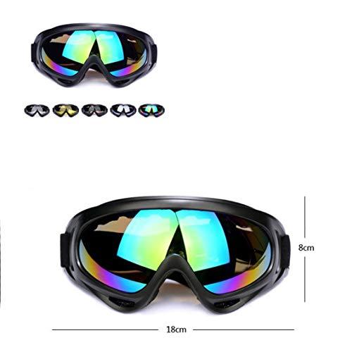 FancyswES8eety Gafas Aire Libre Montar Motocicletas